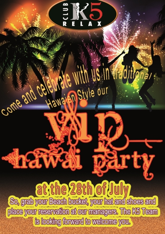 K5 HAWAI PARTY